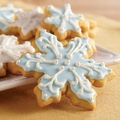 "Classic Sugar Cookies by Crisco® Baking Sticks- ""Rolling, cutting, decorating and ultimately transforming our Classic Sugar Cookies into one of a kind holiday cookies is a long-standing tradition in families across America! Crisco Sugar Cookie Recipe, Crisco Cookies, Crisco Recipes, Cut Out Cookies, Cookie Recipes, Sugar Cookie Recipe Food Network, Gooey Cookies, Icing Recipe, Cookie Ideas"