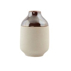 Earth Vase - Metallic Brown/Grey