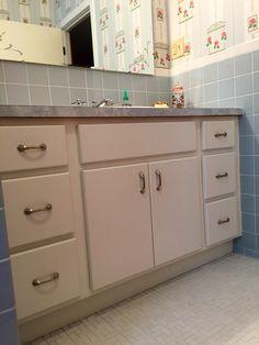Vintage Ming Green Porcelain American Standard Sink S VIntage - 1950's style bathroom vanity