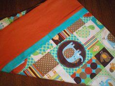 Magic Pillow Case Giraffe Elephant Bird Turtle Zoo by BeBeBeez