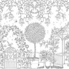 uploadimagenl_20 postcards secret garden binnenwerk_pagina_20 coloring pages for adultscolouring