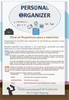 Organização no escritório - parte 2