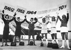 South African Airways circa 1960 VASP of Brazil Onboard service - the old-fashioned way! One of Canada's iconic airlines of yes. Beatles, Australian Airlines, Trolley Dolly, Aviation Humor, Intelligent Women, Come Fly With Me, Funny Fashion, Flight Attendant, People