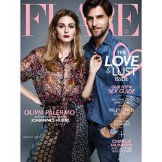 Olivia Palermo & Johannes Huebl for Flare Magazine Cover