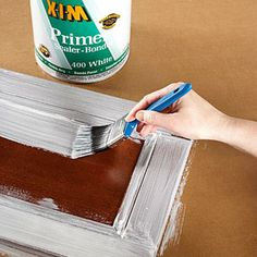 A simple tutorial and list of materials for  painting cabinets perfectly!