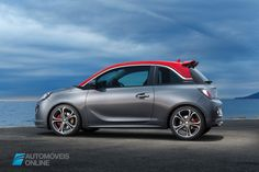 New Opel Adam S 150 CV left profile view 2015 Automoveis-Online