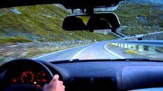 Transfagarasan - best driving road of the world - Nordseite - BMW 330Ci