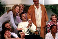 MY LIFE, Nicole Kidman, Michael Keaton, Michael Constantine, Queen Latifah, 1993, (c) Columbia