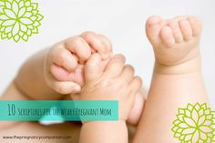10 Scriptures for the Weary Pregnant Mom. Your harvest is coming mama! Hang in there and let these words of truth carry you!