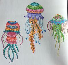 Lost Ocean Johanna Basford Coloring inspiration