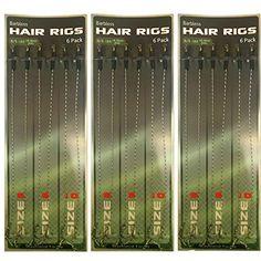 Carp Fishing  Hair Rigs 100 Phoxinus Large Maggot Clips Matt Black//Anti Glare