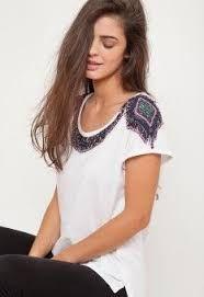 Resultado de imagem para blusa cinza mescla customizada