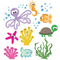 1000+ images about Sea Life Kids Bedroom on Pinterest ...