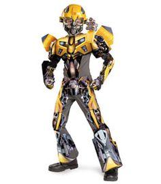 3-d transformer bumblebee costume - as daring spy Bumblebee 00734a6074