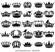 Vector vintage prince crown Free vector for free download about (2) Free vector in ai, eps, cdr, svg format .