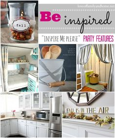 """Hey Everyone!! Thanks for joining us for another """"Inspire Me Please"""" Weekend Blog Hop! Time to share your latest DIY/decorating projects, yummy recipes, & crafty creations!! We can't wait to see what you've been working on! There were some amazing projects linked up last week! Here are a few of my favorites….  Spray Painted …."""
