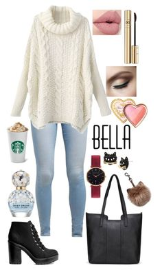 """""""Untitled #99"""" by ribeeirotelminha on Polyvore featuring Levi's, H&M, Abbott Lyon, Betsey Johnson, Marc Jacobs, Dolce&Gabbana and Too Faced Cosmetics"""