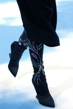 Raf Simons for Christian Dior surrealist boots 2013