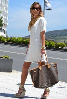 Tom Ford Óculos / Sunglasses, Balcon Vestidos de Moda e Bolsas Louis Vuitton