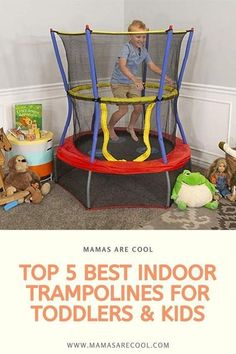 Looking to purchase the best trampoline for your kids? Read our buying guide and reviews before you make your purchase. #moms #momlife #parenting #parenthood #mothers #motherhood #kids #mama #trampolines #fun #activity #toddlers #flips #jump #jumping #indoor #toys Toddler Trampoline, Best Trampoline, Indoor Trampoline, Enclosed Trampoline, Gymnastics For Beginners, Kids Part, Trampolines, Toys Online, Christmas Gift Guide