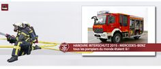 HANOVRE INTERSCHUTZ 2015 - MERCEDES-BENZ HANOVRE INTERSCHUTZ 2015 : tous les pompiers du monde étaient là !