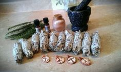 Sacred  White Sage Natural Incense Smudge Stick by ADKaromatherapy, $5.00