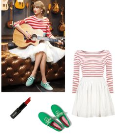 """Keds Taylor Swift Inspired Look"" by trackingtaylor on Polyvore"