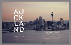 Auckland City Editorial Design by Veronica Cordero Editorial Design, Editorial Layout, Print Layout, Layout Design, 2020 Design, Magazine Design, Magazine Layouts, Verona, Guide New York