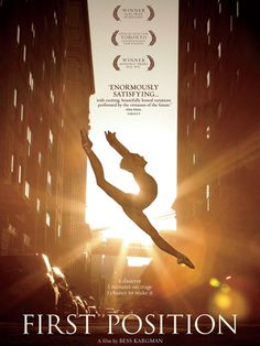 First Position documentary - awesome!! Follows elite ballet students to international competitions