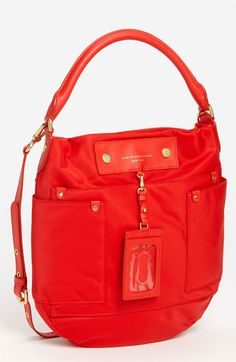 MARC BY MARC JACOBS 'Preppy Nylon Hillier' Hobo available at #Nordstrom