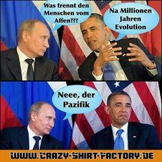 Böse böse ...   #crazys #prost #fun #spass #rauchen #trinken #verrückt #saufen #irre #crazyshirtfactory #geilescheiße #funpic #funpics #putin #obama