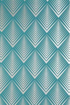 Growhousegrow Pattern Color Vintage Wallpaper By Hemingway Design