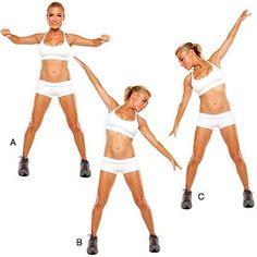 4 Moves for a Bikini-Ready Body