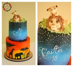 Lion King Cake - Cake by My Sweet Dream Cakes