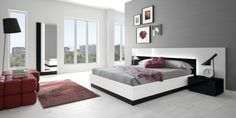 Wonderful Red and Grey Combos To Incorporate In The Bedroom