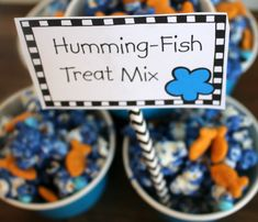 Party Time with The Lorax - Laura Kelly's Inklings Fish Crackers, First Year Teachers, The Lorax, Candy Melts, Love Is All, Some Fun, Party Time, How To Memorize Things, Reading