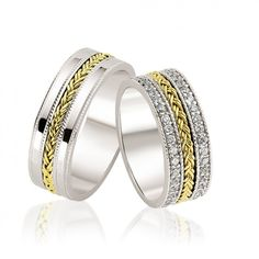 30 Popular Verighete Images Halo Rings Romania Wedding Band