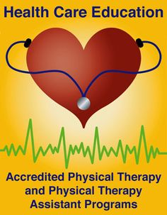 Links to accredited physical therapy and physical therapist assistant programs