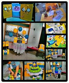 The Adventure Time theme party