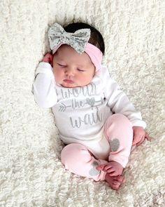 newborn HOSPITAL Outfit newborn girl coming home outfit baby #babystuffnewborn