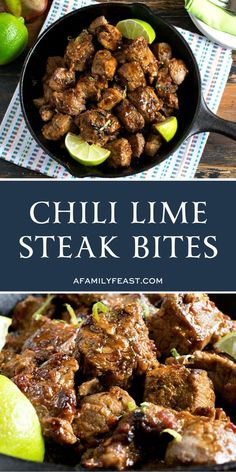Terrific Photos Chili Lime Steak Bites Concepts Today I'm going showing you how to make the classic membership sandwich. That dual decker sandwic Sirloin Steak Recipes, Sirloin Steaks, Beef Recipes, Healthy Recipes, Lime Recipes, Beef Tips, Recipies, Soup Appetizers, Appetizer Recipes