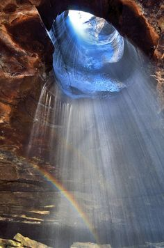 Glory Hole Waterfall - Arkansas
