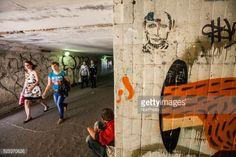 Graffiti of Vladimir Putin in the subways of Chernigov, Ukraine.... #chernihiv: Graffiti of Vladimir Putin in the subways of… #chernihiv
