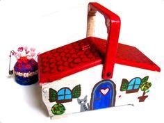 Rundumverschönertes Nähkästchen / Beautified sewing box