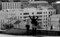 com Lisboa aos pés...