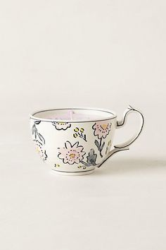 Tea Cup Candle  #anthropologie