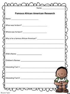 writing a black history report