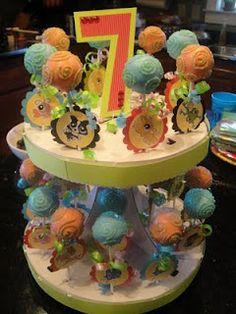 Littlest Pet Shop Cake Pops