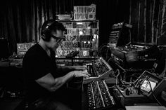 Trent Reznor and Atticus Ross recording and mixing the Gone Girl film score, Los Angeles, 2014. Photos by Rob Sheridan.