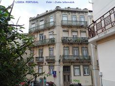 Caminhando por Lisboa... Foto : Cida Werneck
